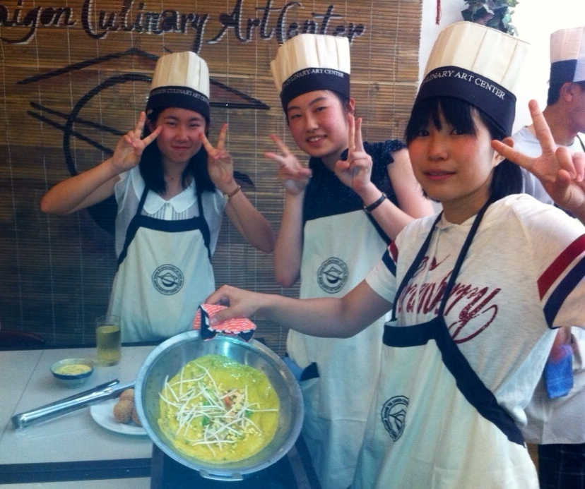 Funny Teenagers Cooking Course
